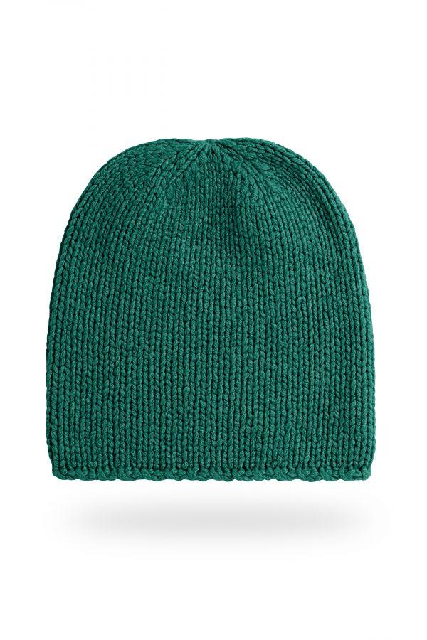 Mütze Anna, dunkelgrün