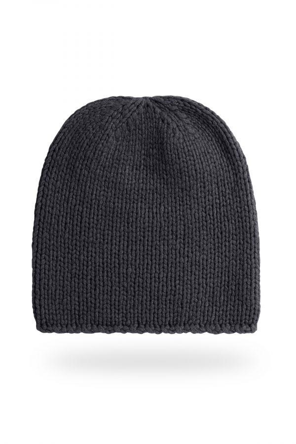 Mütze Anna, dunkelgrau