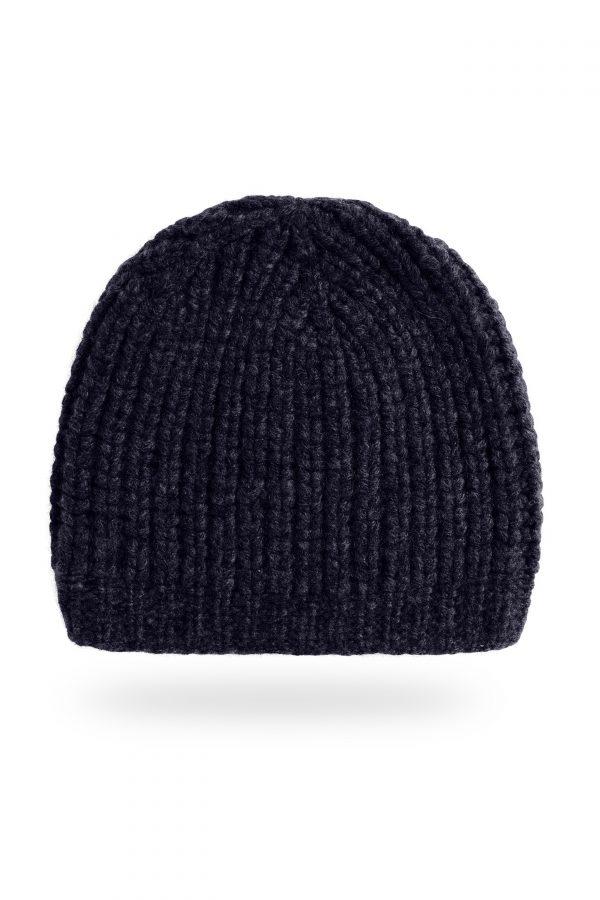 Mütze Caterina, dunkelblau