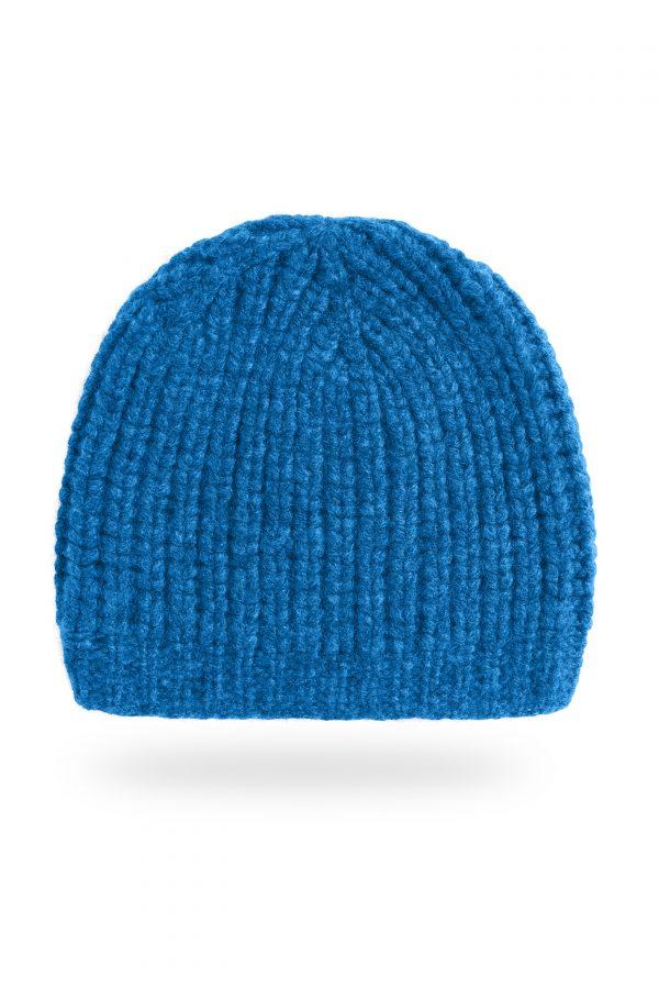 Mütze Caterina, knallblau